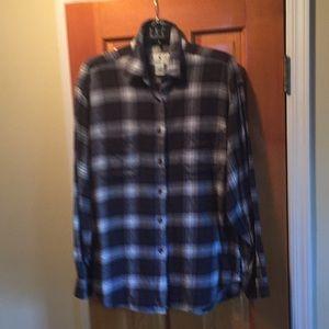 INC flannel shirt